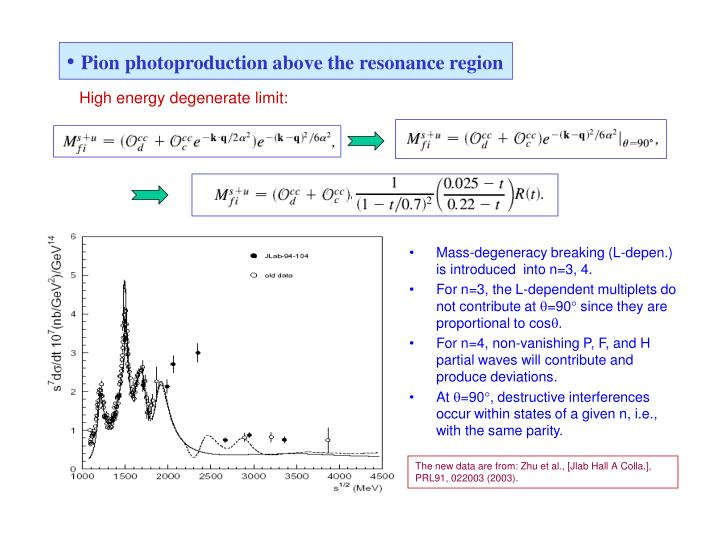 Pion photoproduction above the resonance region