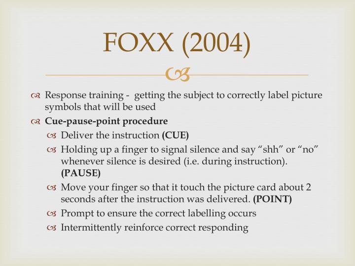 FOXX (2004)