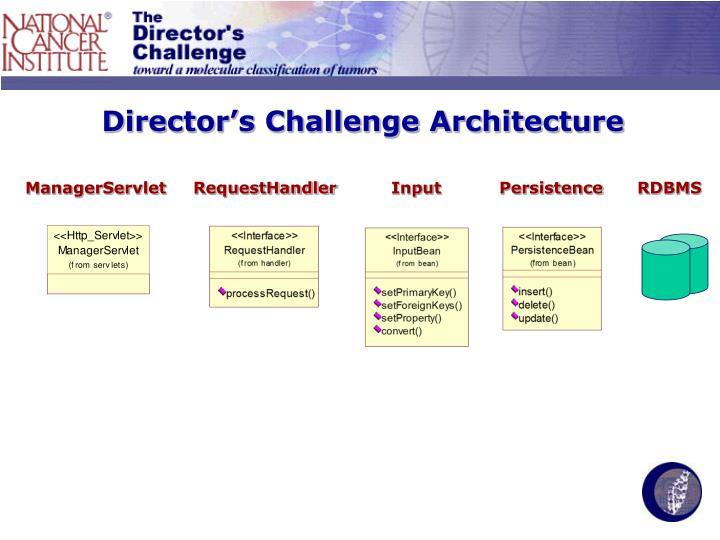 Director's Challenge Architecture