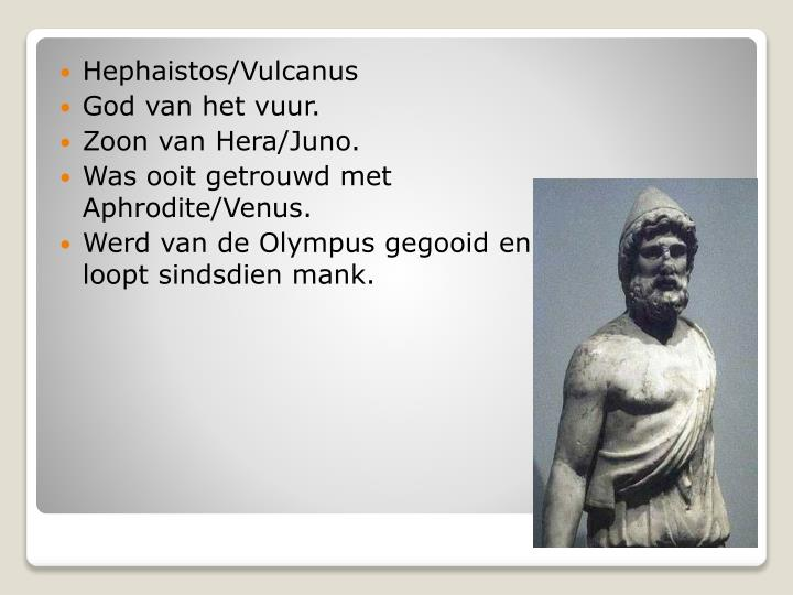 Hephaistos/Vulcanus