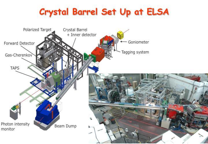 Crystal Barrel Set Up at ELSA