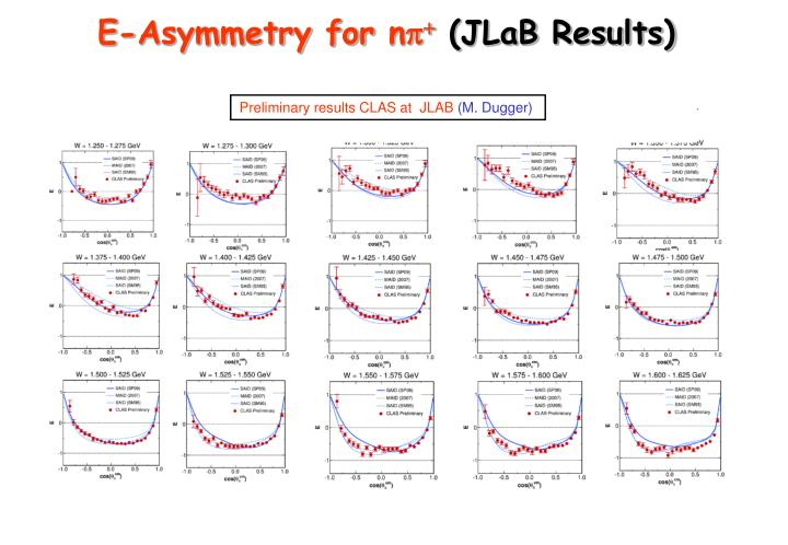 E-Asymmetry for