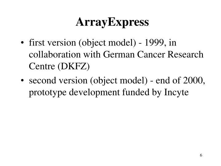 ArrayExpress