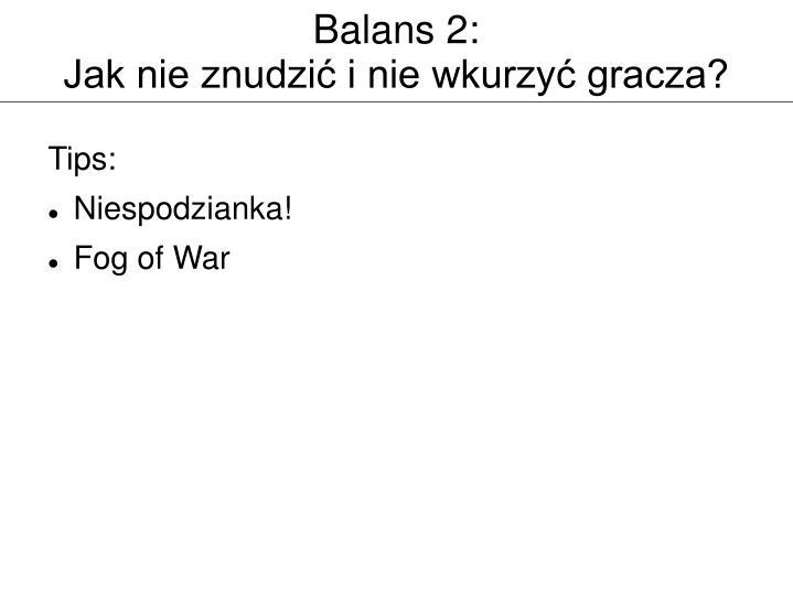Balans 2: