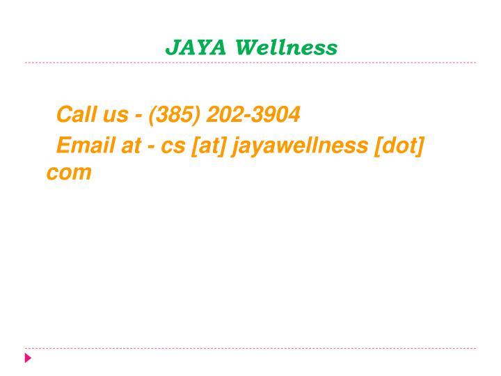 JAYA Wellness