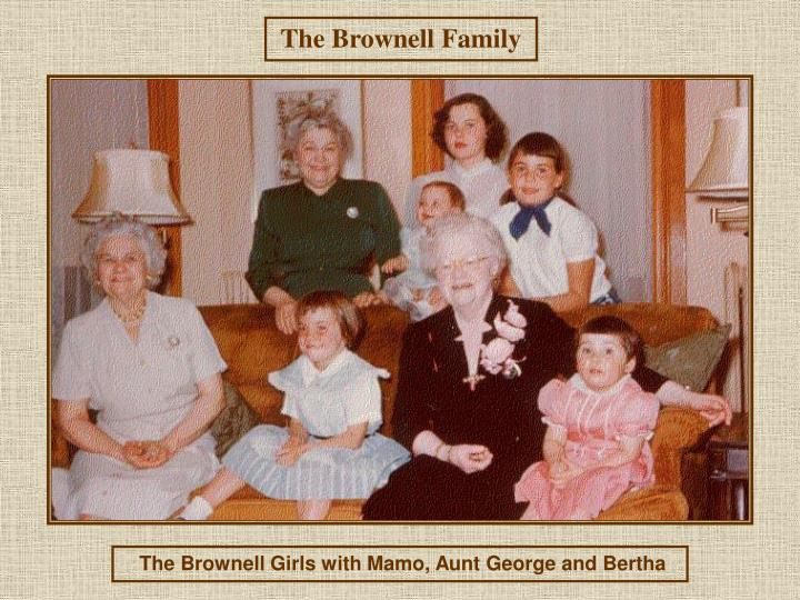 The Brownell Family