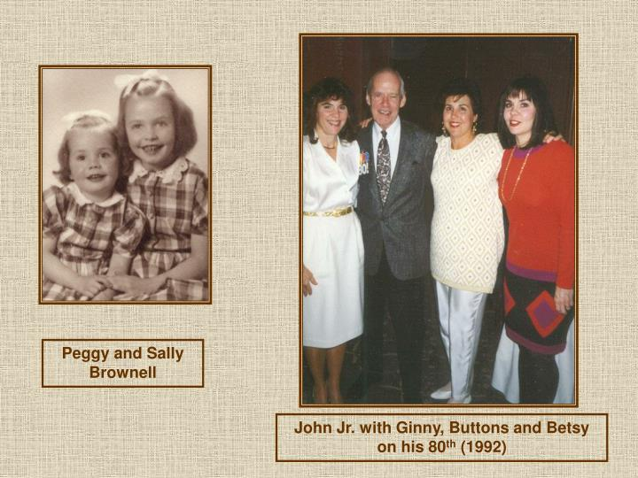 Peggy and Sally Brownell