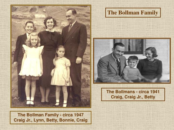 The Bollman Family