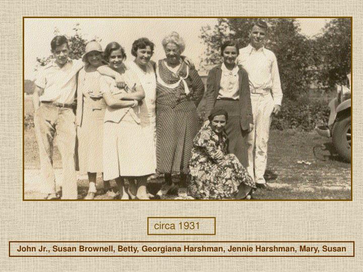 circa 1931