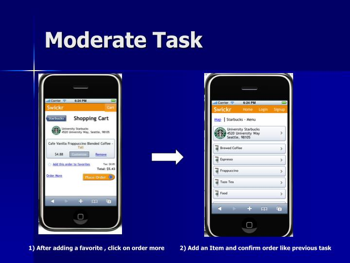 Moderate Task