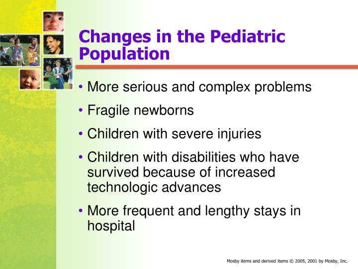 Changes in the Pediatric Population