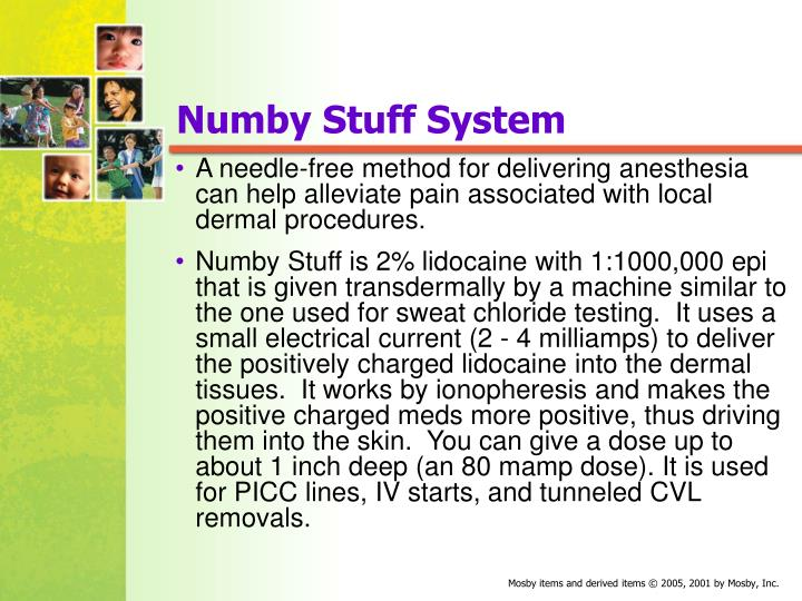 Numby Stuff System