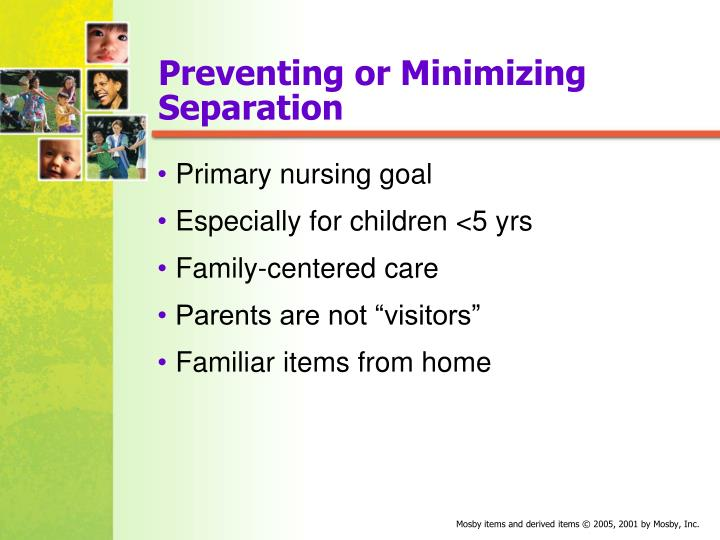 Preventing or Minimizing Separation