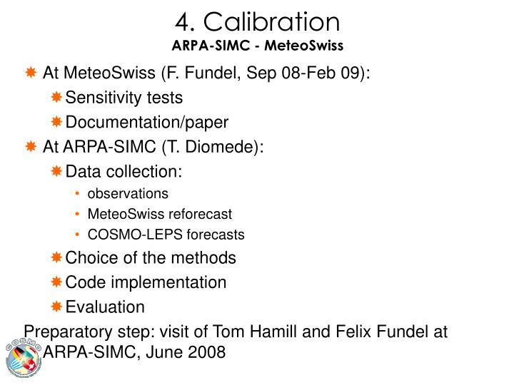 4. Calibration