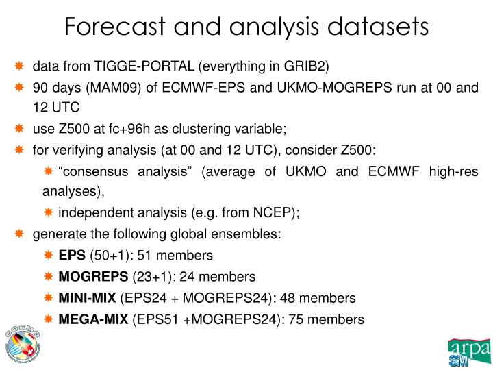 data from TIGGE-PORTAL (everything in GRIB2)