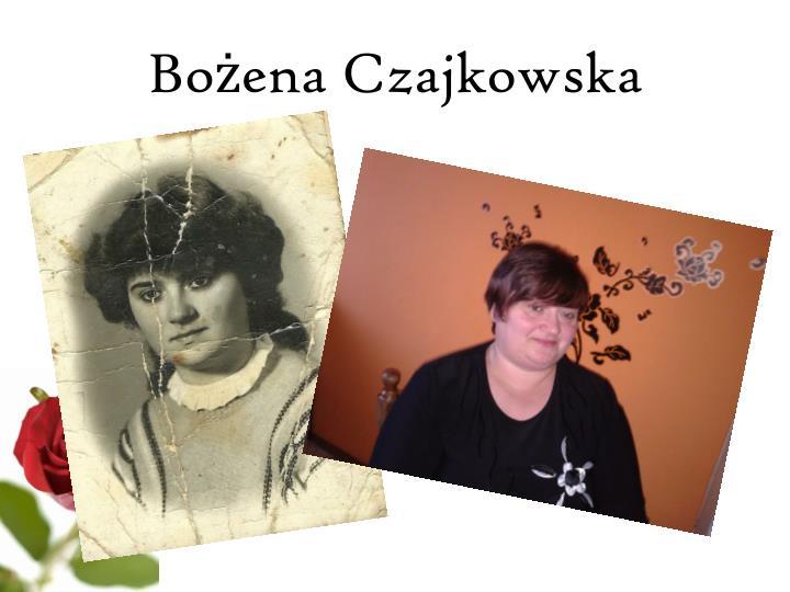 Bożena Czajkowska
