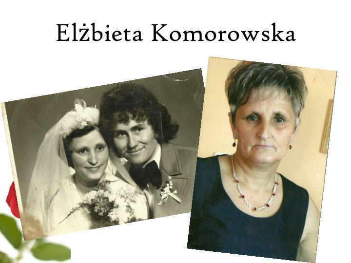 Elżbieta Komorowska