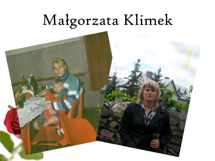 Małgorzata Klimek