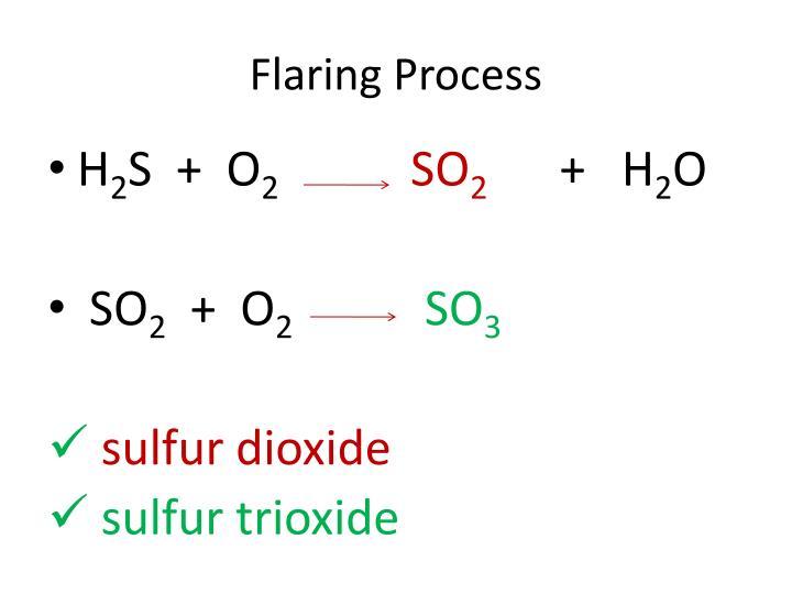 Flaring Process