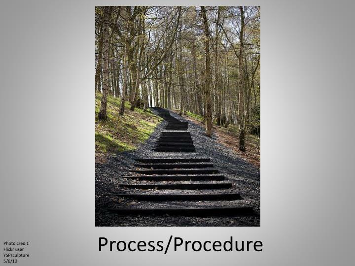 Process/Procedure
