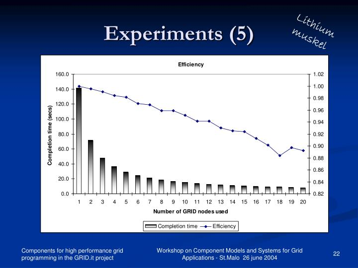 Experiments (5)