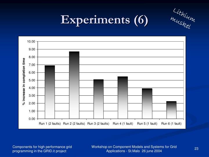 Experiments (6)