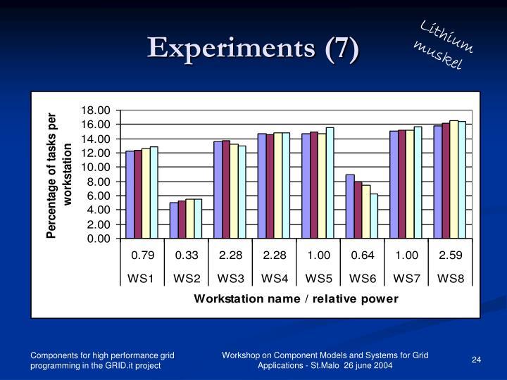 Experiments (7)