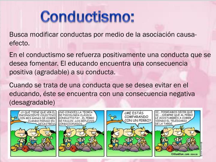 Conductismo: