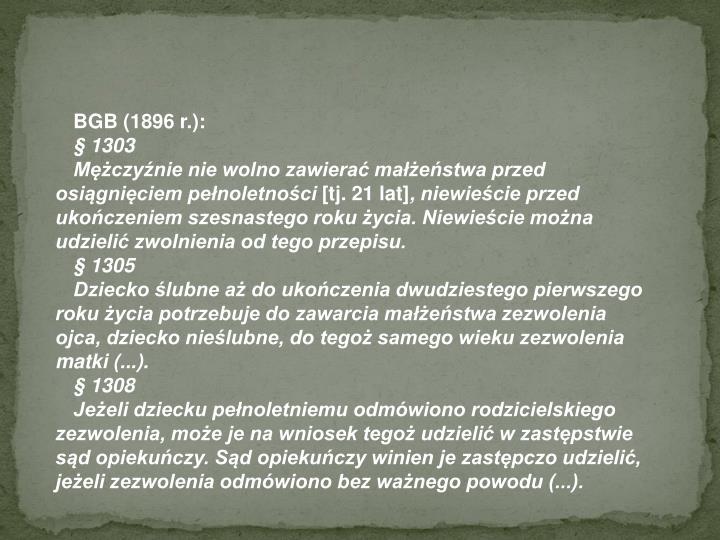 BGB (1896 r.):