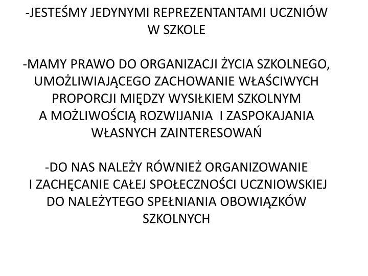 -JESTEŚMY