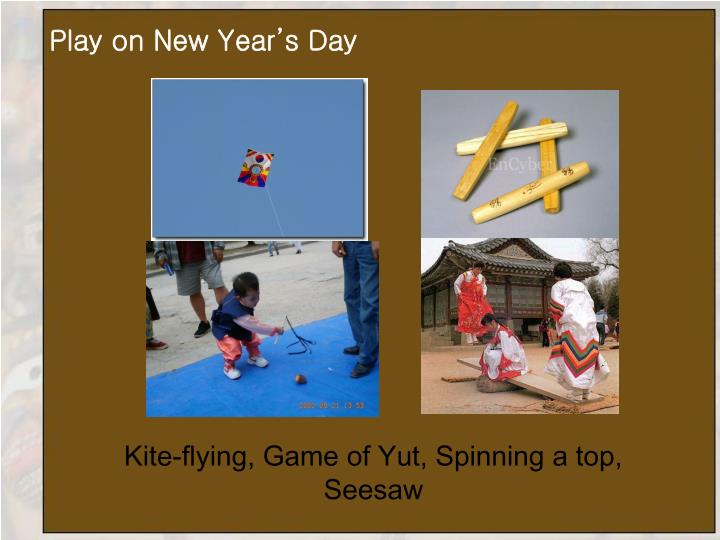 Play on New Year's Day