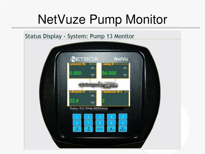 NetVuze Pump Monitor