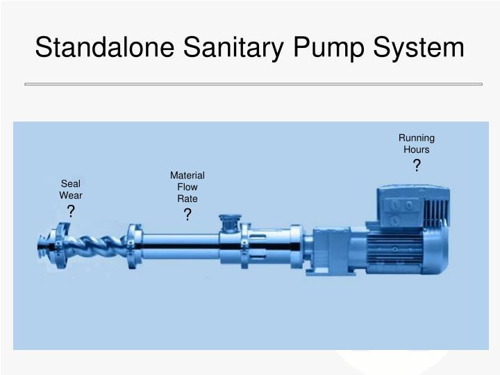 Standalone Sanitary Pump System
