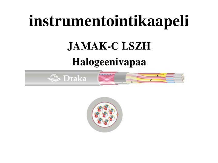 instrumentointikaapeli