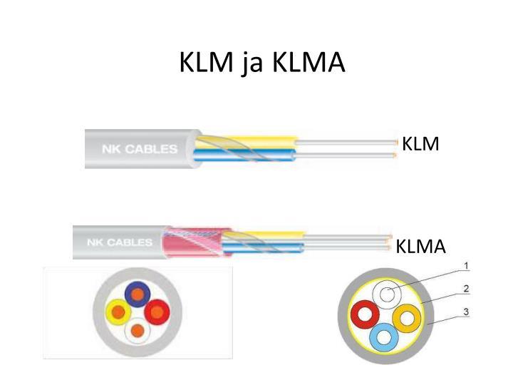 KLM ja KLMA