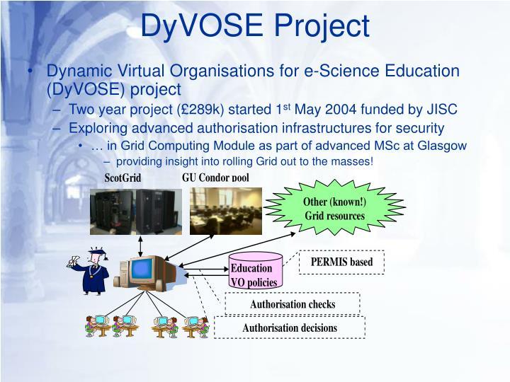 DyVOSE Project
