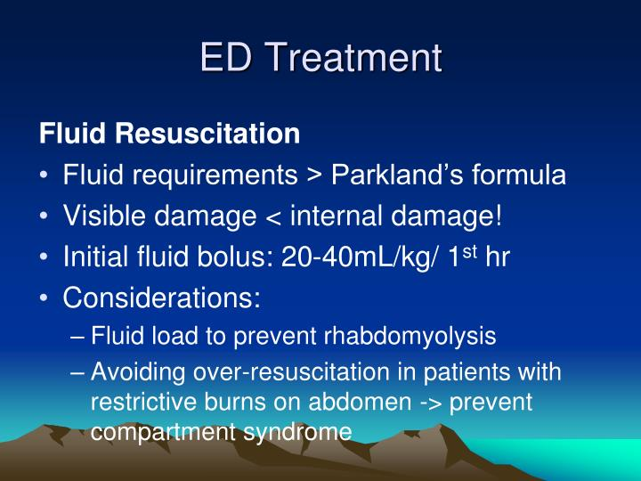 ED Treatment