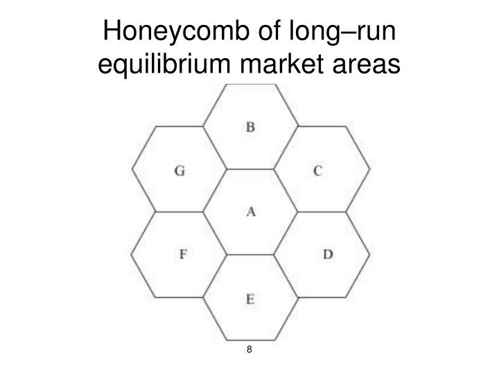 Honeycomb of long–run