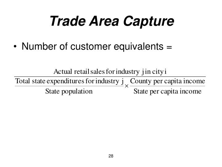 Trade Area Capture
