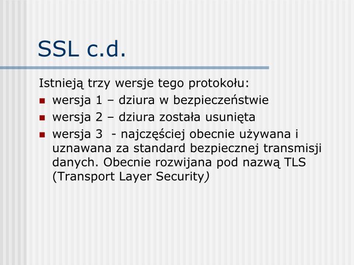 SSL c.d.