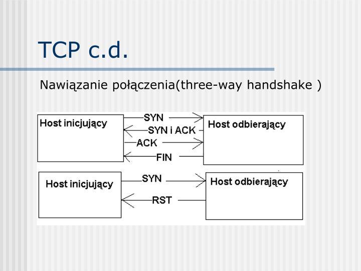 TCP c.d.