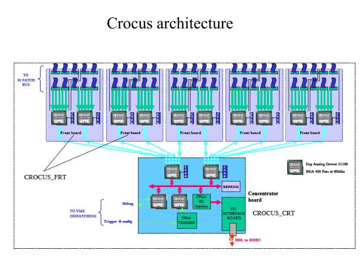 Crocus architecture
