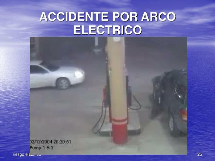 ACCIDENTE POR ARCO ELECTRICO