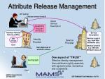 attribute release management
