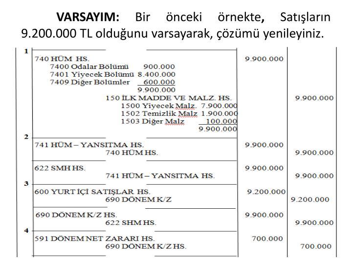 VARSAYIM: