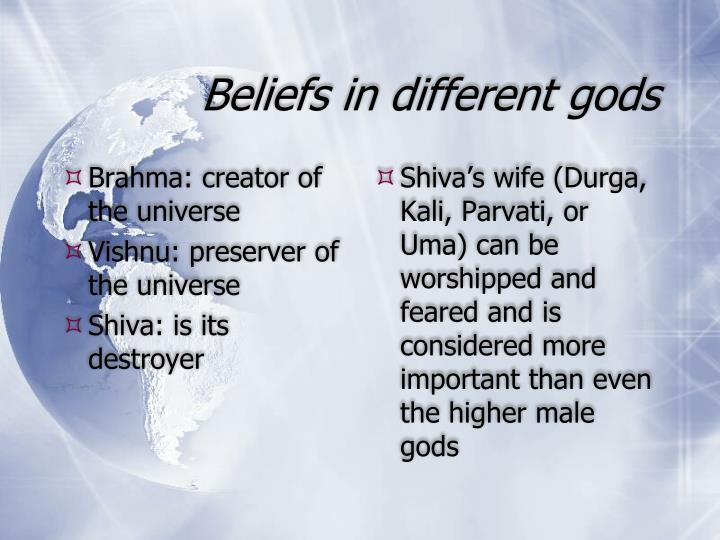 Brahma: creator of the universe