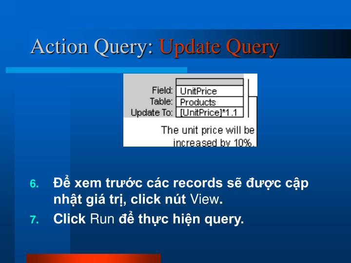 Action Query: