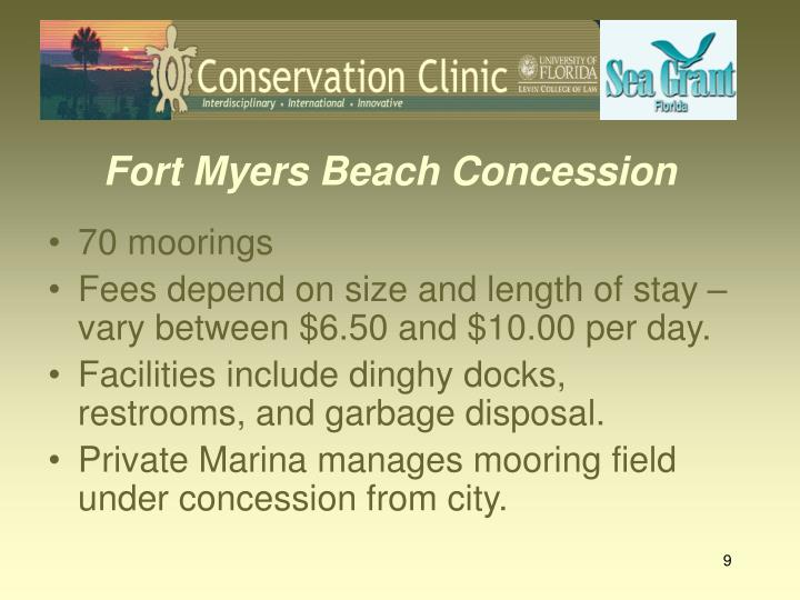 Fort Myers Beach Concession
