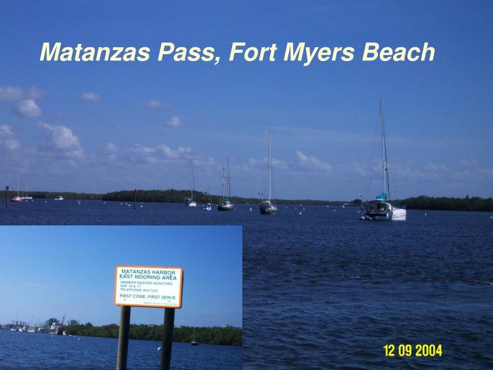 Matanzas Pass, Fort Myers Beach