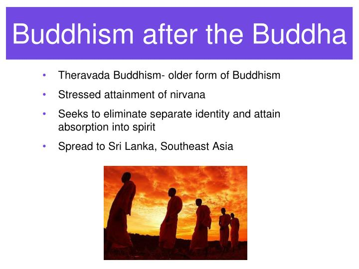Buddhism after the Buddha